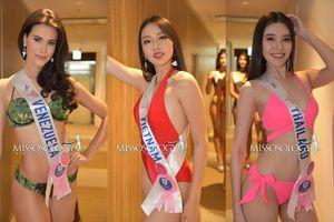 Thùy Tiên tinh tế khi lựa chọn áo tắm một mảnh để che khuyết điểm ở phần thi hình thể Hoa hậu Quốc tế