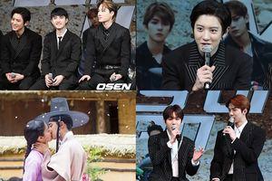 Các thành viên EXO chọc ghẹo và nói về cảnh hôn của D.O. và Nam Ji Hyun trong '100 Days My Prince'