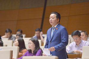 Bộ trưởng Bộ TN&MT Trần Hồng Hà trả lời chấp vấn Quốc hội
