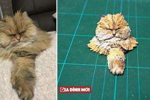 Những tác phẩm điêu khắc kỳ lạ về chó mèo khiến bạn phải dụi mắt nhìn lại