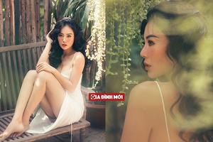 Thanh Hương đẹp mong manh, quyến rũ trong bộ ảnh mới