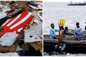 Vụ rơi máy bay ở Indonesia: Đã tìm thấy càng đáp và một đoạn thân máy bay