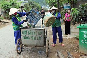 Yên Bái: Thành lập tổ công tác xây dựng đơn giá xử lý rác thải sinh hoạt