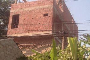 Lạng Sơn: Chính quyền có bất lực khi để xây nhà trái phép trên đất quy hoạch