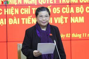 Đoàn Kiểm tra của Bộ Chính trị kết luận làm việc với Đảng ủy Đài TNVN