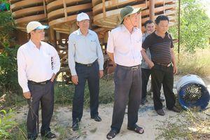 Đột xuất kiểm tra khai thác titan trái phép ở mỏ Suối Nhum, Bình Thuận