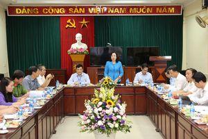 Kiểm tra việc đổi mới, sắp xếp tổ chức bộ máy của hệ thống chính trị tại huyện Thường Tín