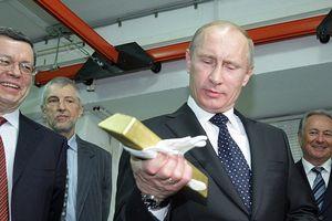 Dự trữ vàng của Nga vượt kỉ lục thời Liên-xô
