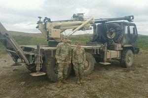 Mỹ ra mắt pháo tự hành bánh lốp 155 mm nhẹ nhất thế giới