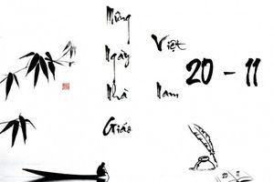 Những bài thơ hay về thầy cô giáo và mái trường được chia sẻ ngày 20/11