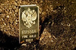 Dự trữ vàng của Nga vượt kỷ lục nhờ chính sách giảm sự phụ thuộc vào USD