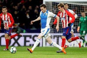 Atletico bị cầm hòa đáng tiếc 1 - 1 trên sân của Leganes