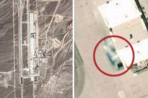 Bí mật động trời Mỹ giấu giữa sa mạc bị Google Earth phát hiện