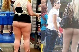 Hú hồn với những người phụ nữ mặc quần như không