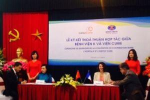 Việt Nam - Pháp tăng cường hợp tác trong lĩnh vực điều trị ung bướu