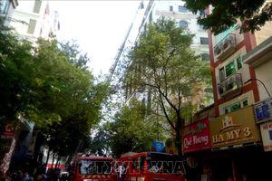 Hỏa hoạn tại khách sạn ở trung tâm Thành phố Hồ Chí Minh