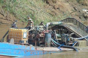 Công an tỉnh Bình Phước phản hồi vụ khai thác cát lậu gây sạt lở thượng nguồn sông Đồng Nai