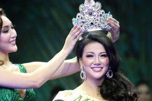Nguyễn Phương Khánh đăng quang Hoa hậu Trái đất 2018