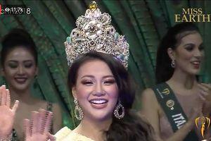 Nguyễn Phương Khánh đăng quang 'Hoa hậu Trái đất 2018'