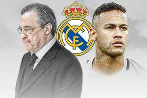 Neymar ra điều kiện với Chủ tịch Perez về vụ đến Real
