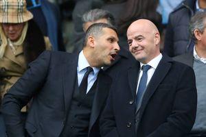 Chủ tịch FIFA dính bê bối 'bảo kê' nhà giàu Man City, PSG