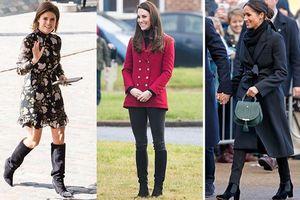 Đừng diện boots đơn điệu nữa, hãy học cách phối thanh lịch và thời thượng như các quý cô Hoàng gia