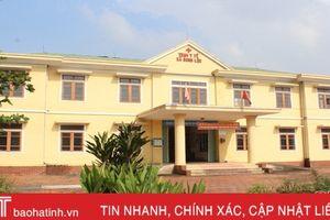 Sau sáp nhập 8 trường, Can Lộc tiếp tục hợp nhất 4 trạm y tế