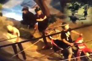 Clip cảnh sát hình sự TP.HCM nổ súng, tóm gọn nhóm đột nhập vào nhà trộm xe máy