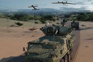 Mỹ trang bị máy bay không người lái trinh sát cho tăng thiết giáp