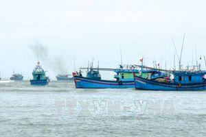 Đảm bảo an toàn cho tàu cá trên biển