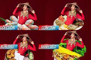 'Bánh mì' bị đánh giá thấp, liệu dàn quốc phục bún đậu - cơm tấm này có đủ sức 'chặt chém' tại Miss Universe?
