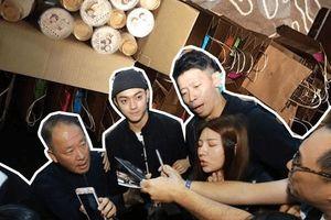 Sau khi tuyên truyền Diên Hi Công Lược từ Đài Loan trở về, Hứa Khải khệ nệ với một thùng lớn quà tặng