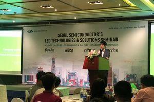 LED Seoul Semiconductor chia sẻ những giải pháp chiếu sáng mới nhất