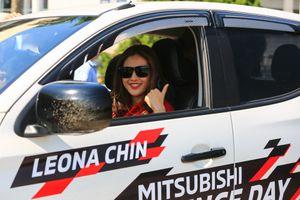 Cơ hội drift cùng nữ tay đua Leona Chin tại Mỹ Đình dành cho khách hàng của Mitsubishi