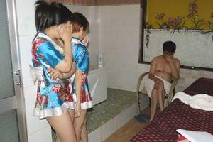 Phá ổ mại dâm núp bóng cơ sở massage