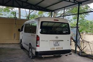 Con nghiện trộm xe 16 chỗ bị CSGT tóm ở hầm Hải Vân