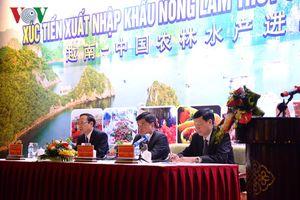 Tăng cường quảng bá, xúc tiến xuất khẩu sang Trung Quốc