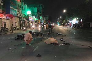 TP.HCM: Xe máy tông nhau kinh hoàng trên đường Phan Văn Trị khiến 2 người tử vong