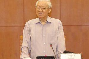 Tổng Bí thư, Chủ tịch nước Nguyễn Phú Trọng: Không quy hoạch cho nhiều khóa, mà chỉ tập trung cho khóa tới (2021-2026)