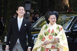 Cận cảnh đám cưới Hoàng gia giữa Công chúa Nhật Bản và thường dân tại đền Meiji
