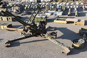 Quân đội Syria phát hiện kho vũ khí 'khủng' của phiến quân do Israel chế tạo