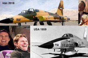Mỹ cười nhạt khi tiêm kích tối tân nhất Iran giống hệt F-5 ra đời đã nửa thế kỷ