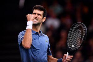 Thắng kịch tính Federer, Djokovic vào chung kết Paris Masters