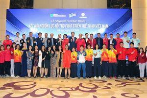 Thầy trò HLV Park Hang-seo được tiếp sức từ chương trình hỗ trợ phát triển thể thao Việt Nam