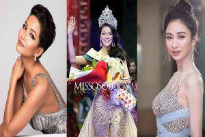 H'Hen Niê và loạt người đẹp 'nô nức' chúc mừng Phương Khánh đăng quang Miss Earth 2018