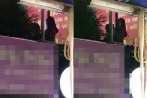 Đôi trai gái 'mây mưa' lộ thiên trong quán trà sữa ở Hà Nội gây bức xúc