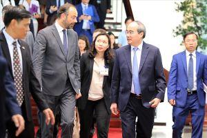 Các doanh nghiệp Pháp đầu tư vào các lĩnh vực xây dựng đô thị thông minh tại TPHCM