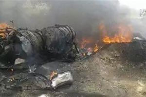 MiG-29 rơi lúc bay huấn luyện, phi công thoát chết gang tấc