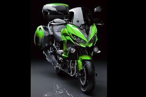 'Ông hoàng địa hình' Kawasaki Versys 1000 2019 hoàn toàn mới sắp ra mắt