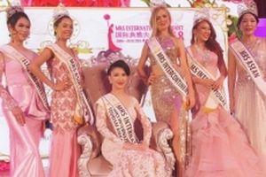 Đại diện Việt Nam đăng quang Hoa hậu Quý bà Quốc tế 2018